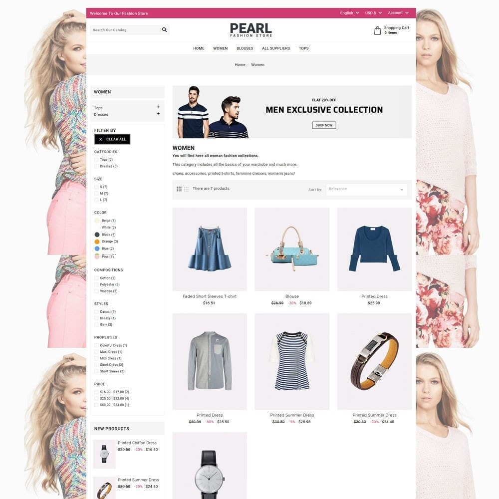 theme - Мода и обувь - Pearl Fashion - 4