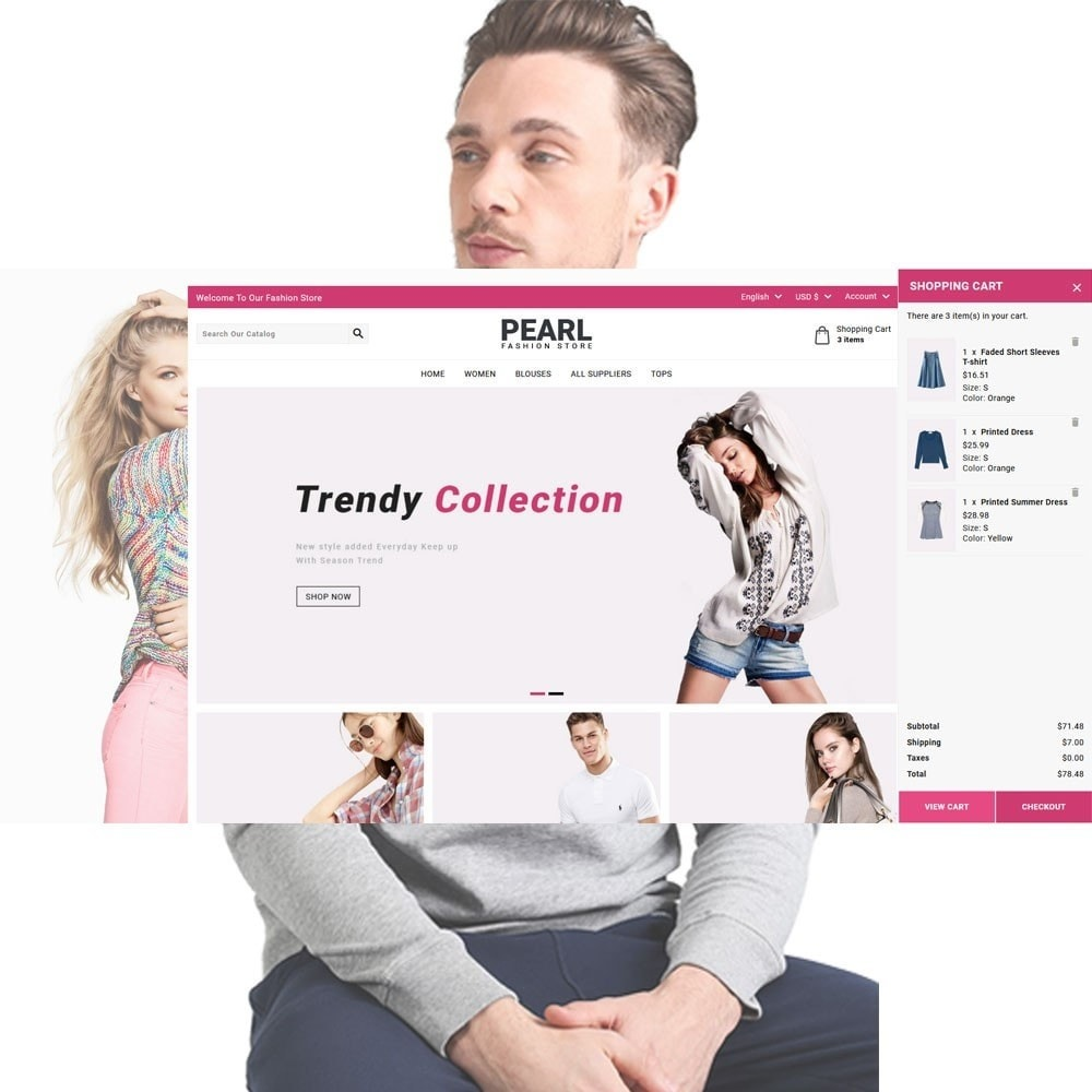 theme - Мода и обувь - Pearl Fashion - 3