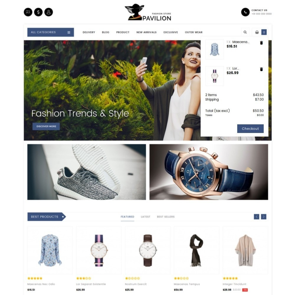 theme - Мода и обувь - Pavilion Fashion Store - 8