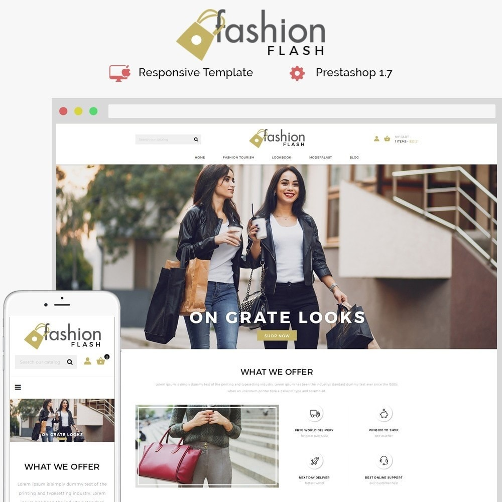 Fashionflash Demo Store