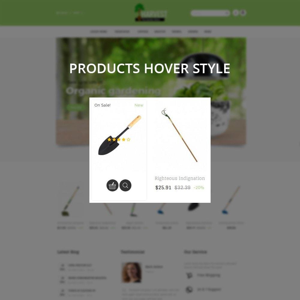 theme - Home & Garden - Harvest Gardening Store - 9