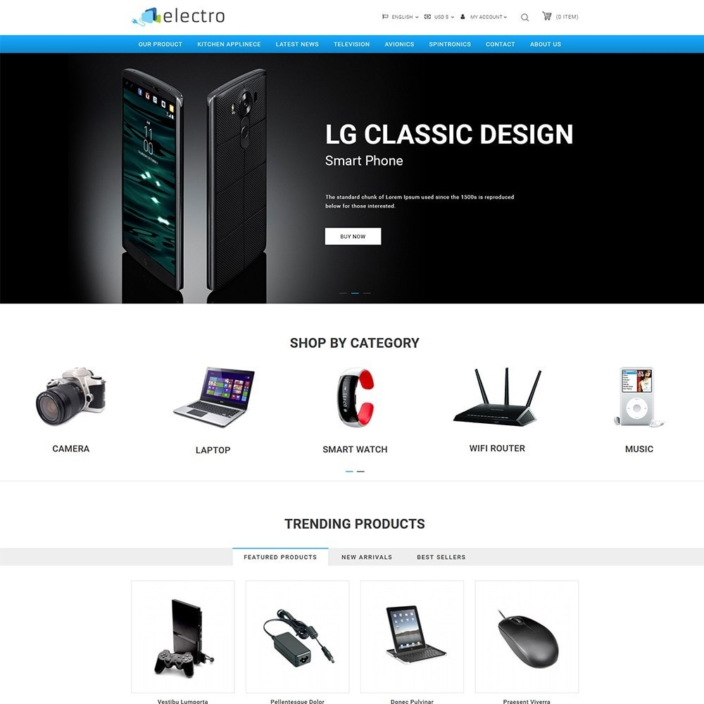 theme - Elettronica & High Tech - Electro - Electronics Store - 2