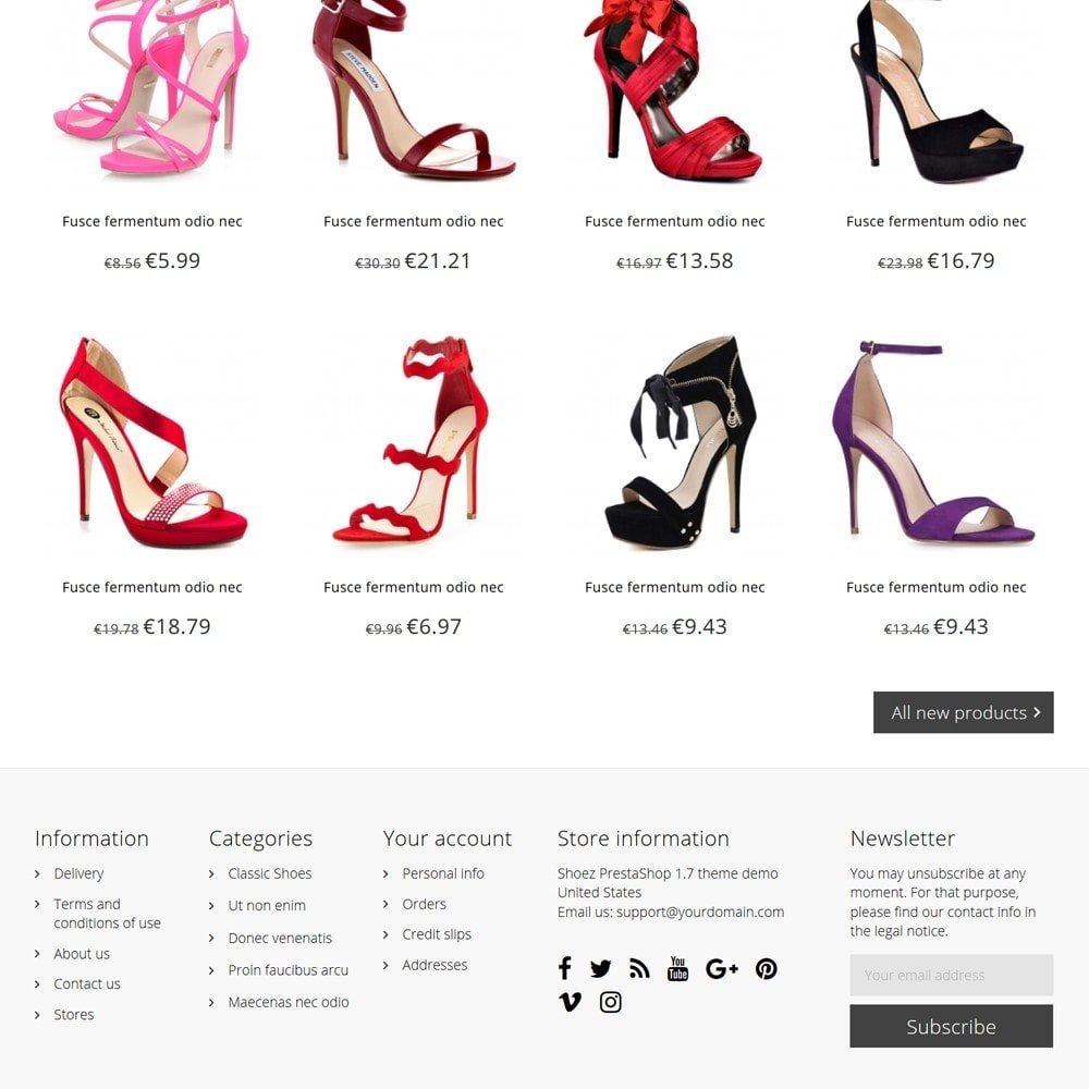 theme - Moda y Calzado - Shoez - 5
