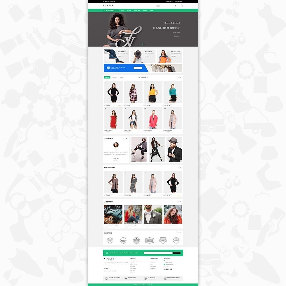 theme - Moda & Calçados - Awear Clothing- The Fashion Store - 2