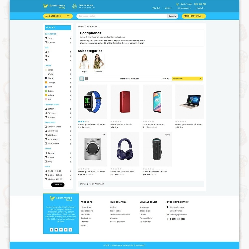 Ecommerce-Today- Electronics Store