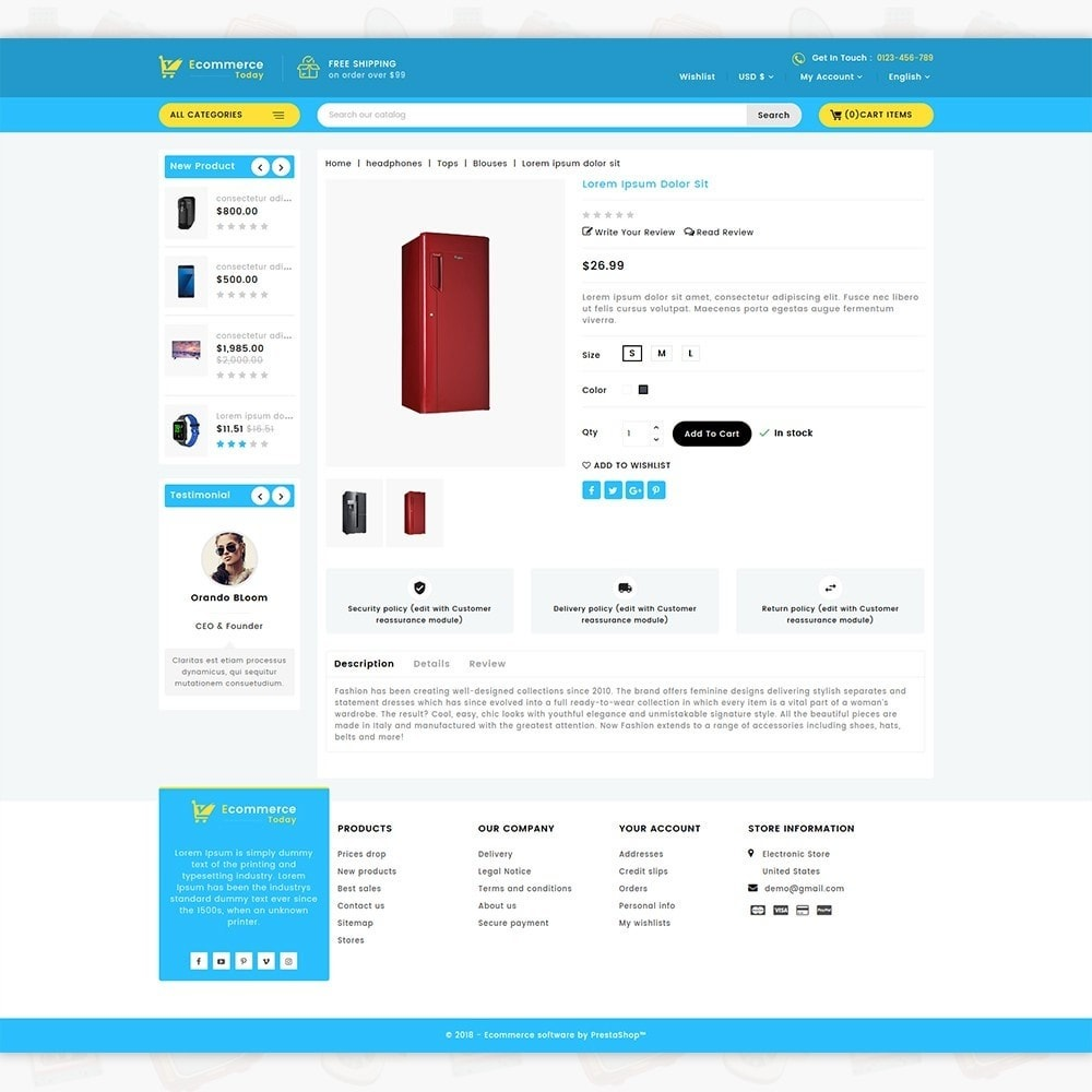 theme - Electronique & High Tech - Ecommerce-Today- Electronics Store - 5