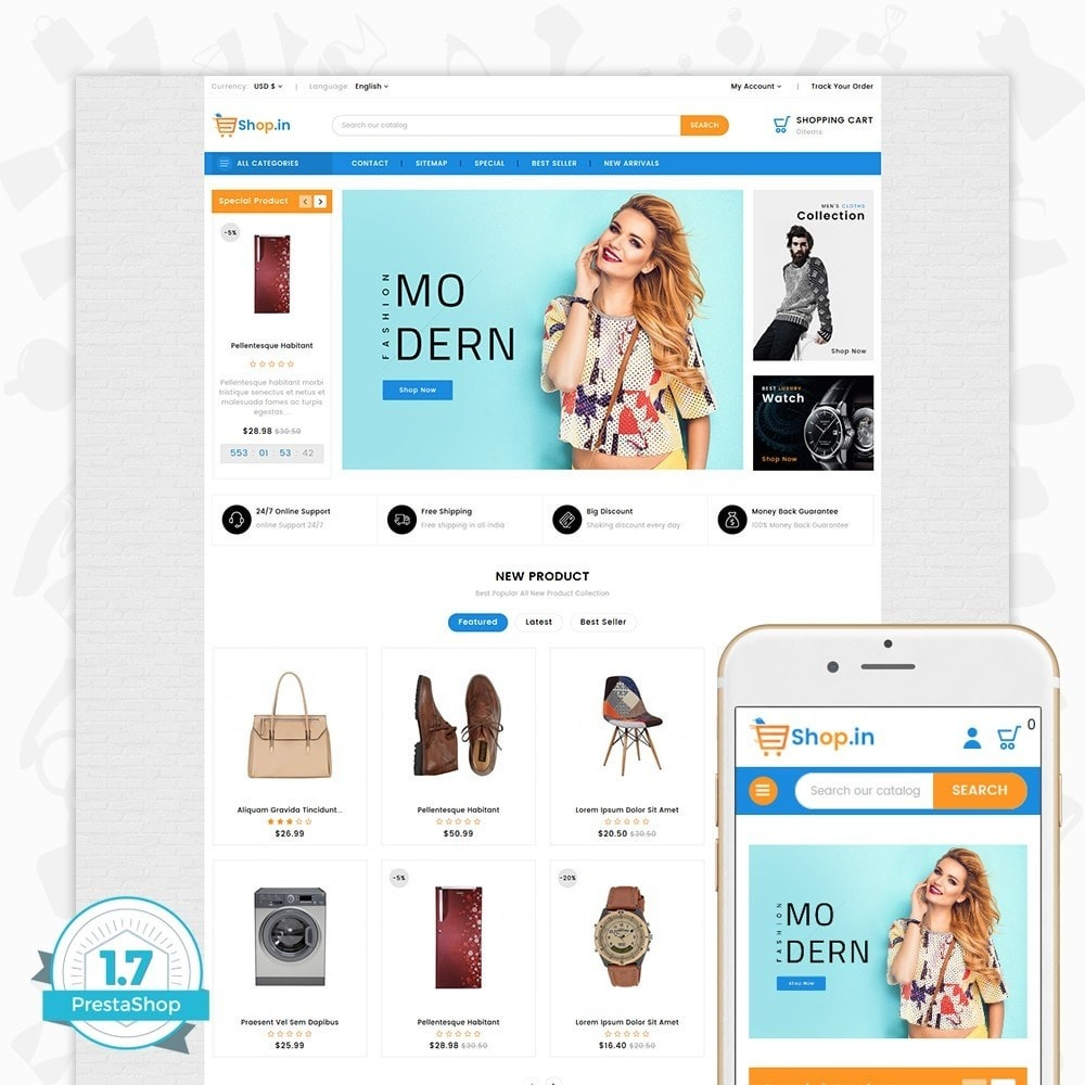 theme - Mode & Schoenen - Shop in -The Fashion Store - 1
