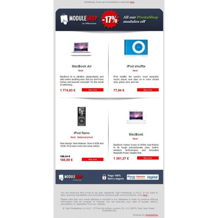 module - Boletim informativo & SMS - Newsletter Maker Pro - 1