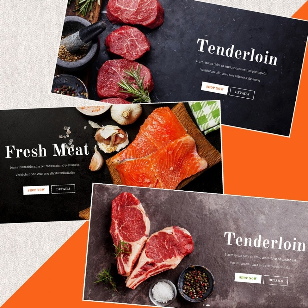 theme - Alimentation & Restauration - Food Shop II - 3