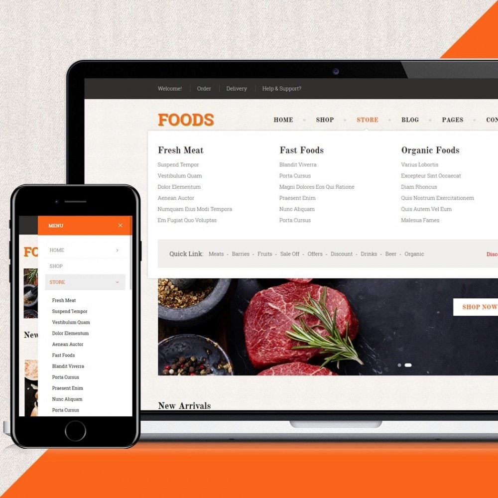 theme - Food & Restaurant - Food Shop II - 4