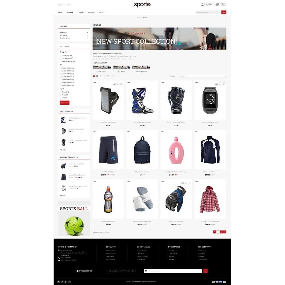 Sporto Demo Store
