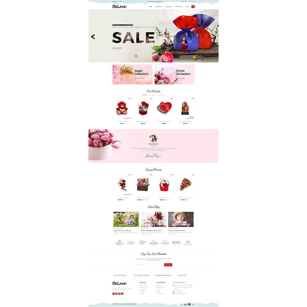 theme - Cadeaux, Fleurs et Fêtes - Belove Gift Store - 2