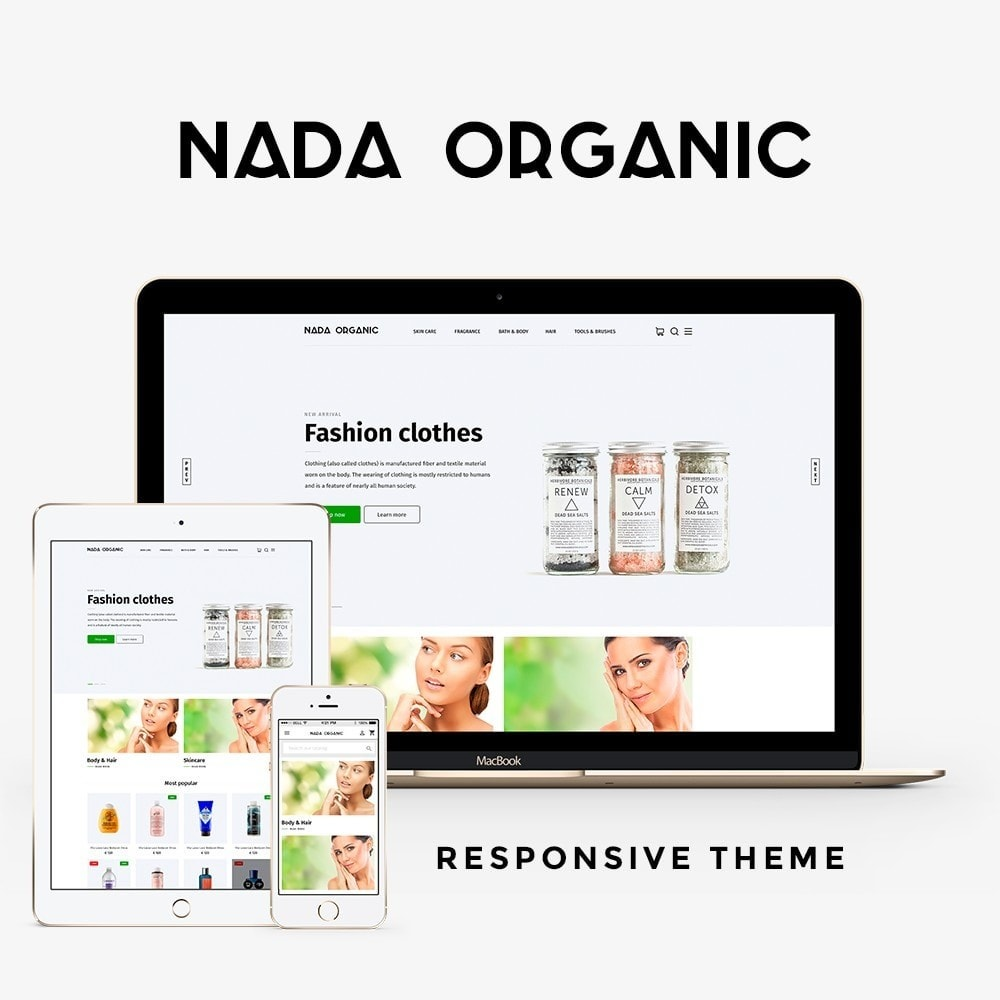 theme - Santé & Beauté - Nada Organic - 1
