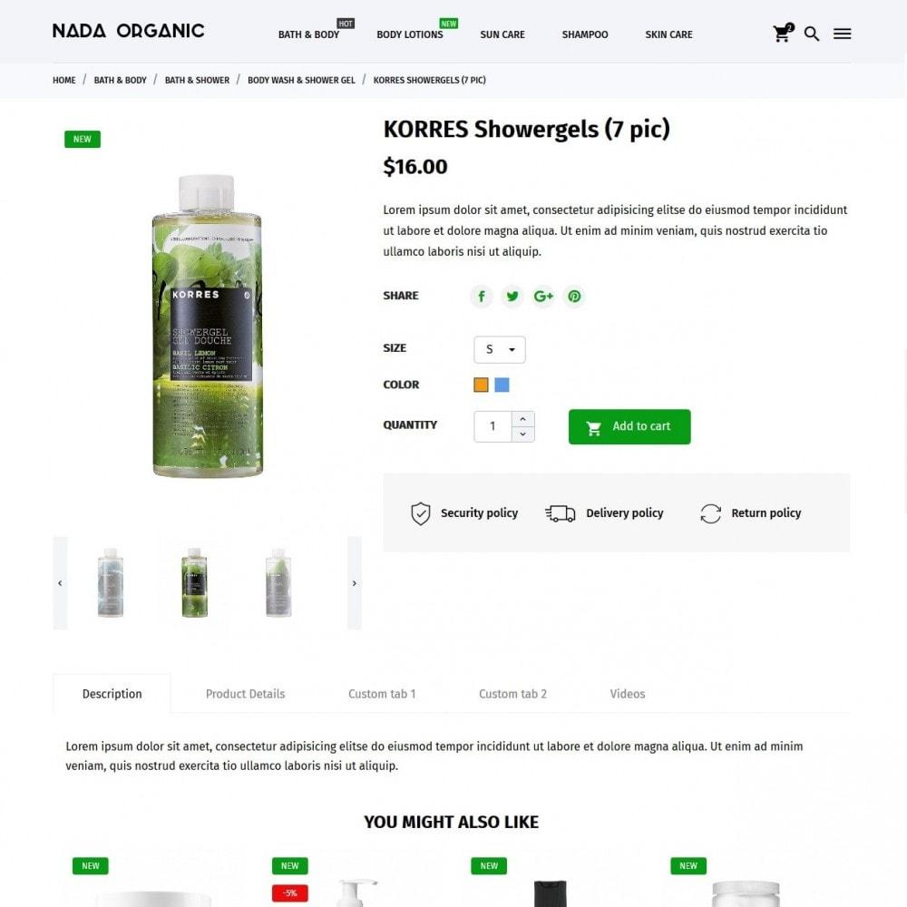 theme - Salud y Belleza - Nada Organic - 6