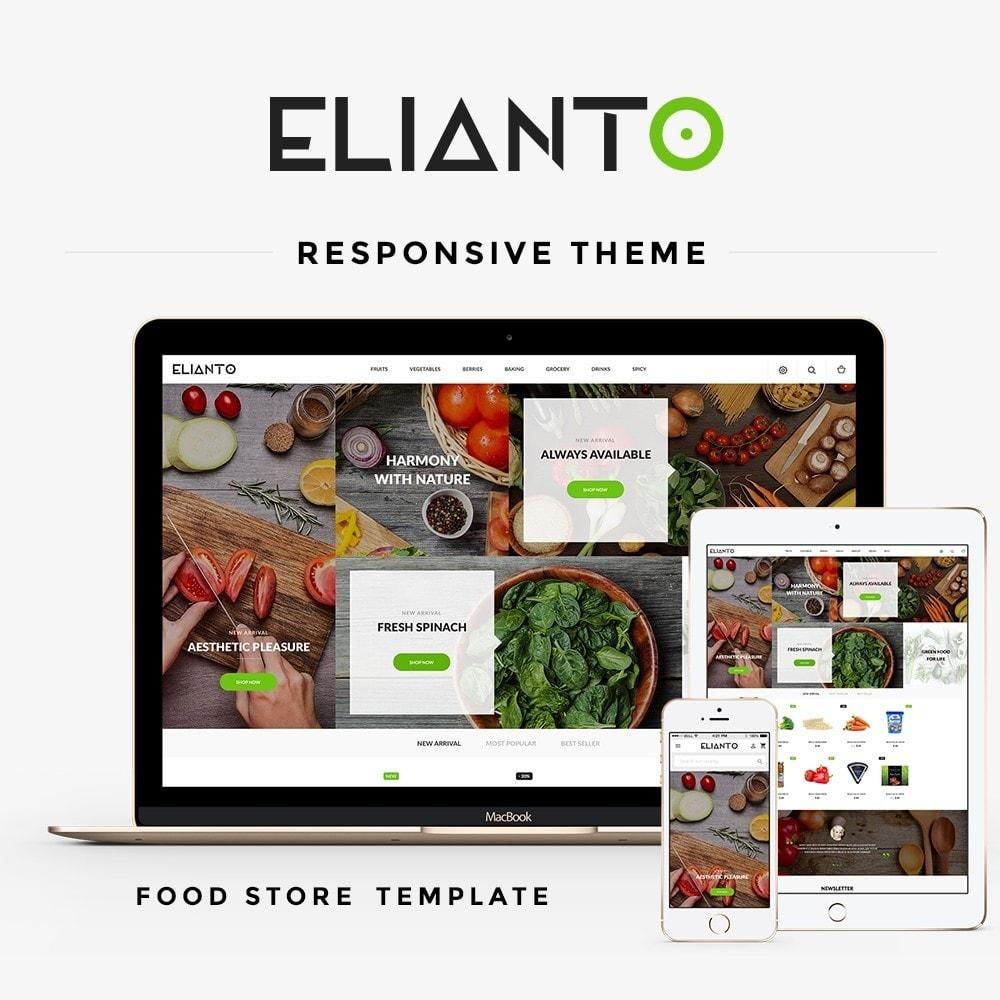 theme - Alimentos & Restaurantes - Elianto - 1