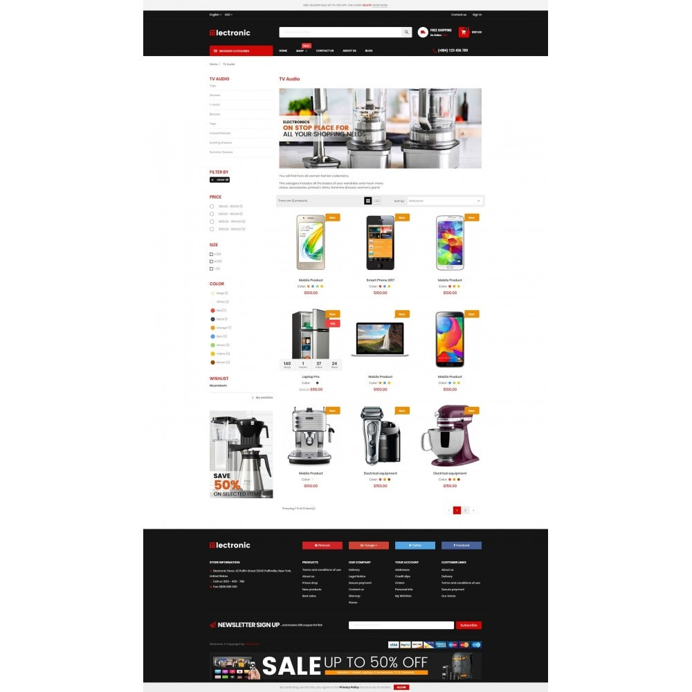 theme - Elektronica & High Tech - Electronic Online Store - 3