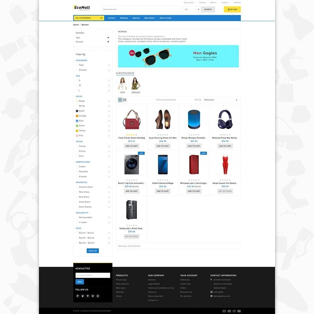 theme - Elektronik & High Tech - EcoMall - The Mega Ecommerce Store - 3