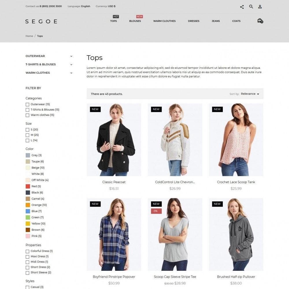 theme - Moda y Calzado - Segoe Fashion Store - 6