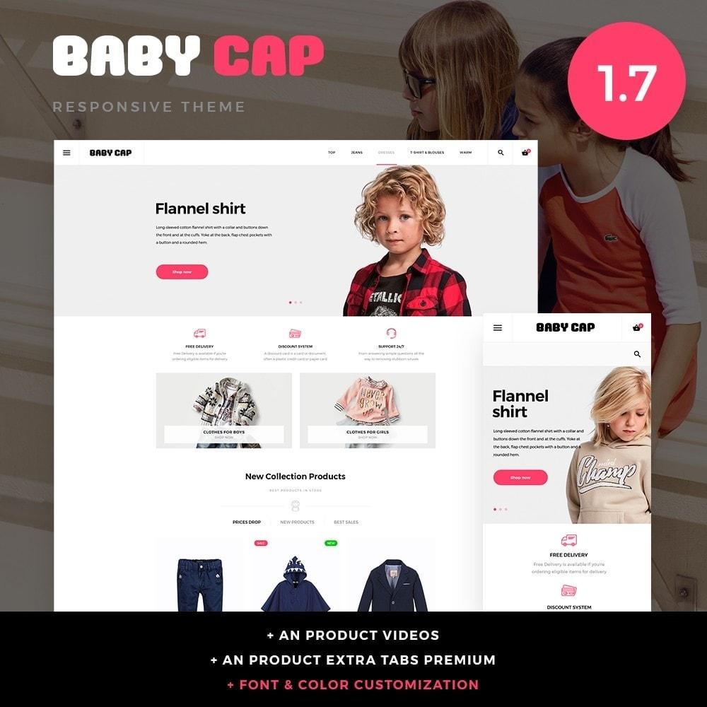 theme - Crianças & Brinquedos - Baby cap - 1