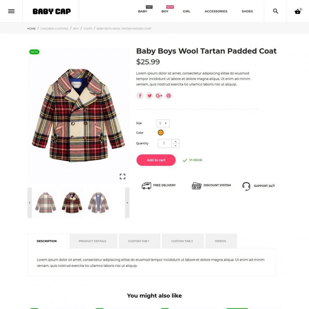 theme - Zabawki & Artykuły dziecięce - Baby cap - 7