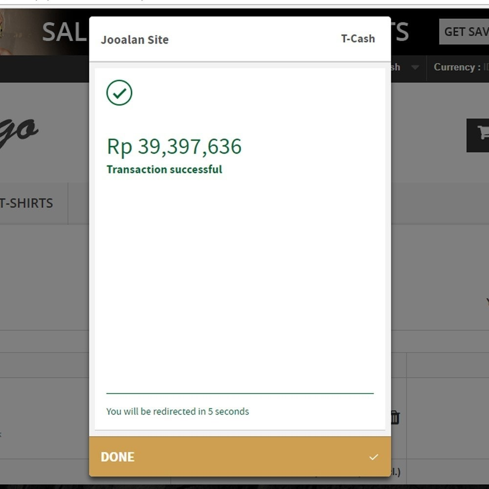 module - Paiement - Indonesia Midtrans Snap Pay - 3
