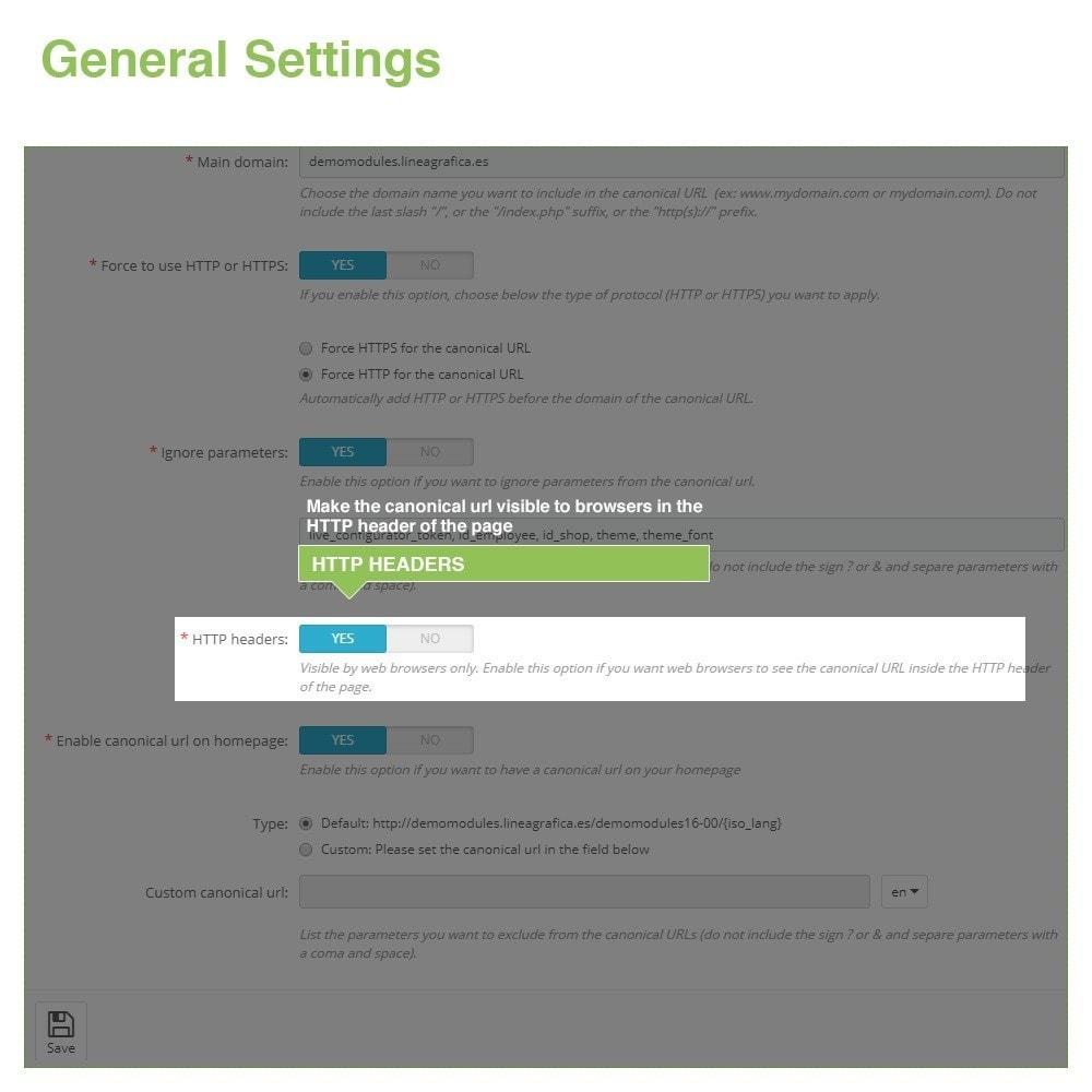 module - URL & Przekierowania - Canonical SEO URLs to Avoid Duplicate Content - 5