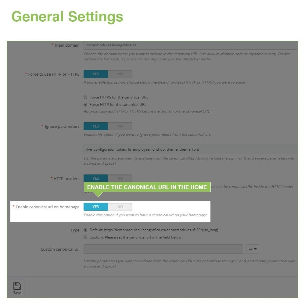 module - URL & Przekierowania - Canonical SEO URLs to Avoid Duplicate Content - 6
