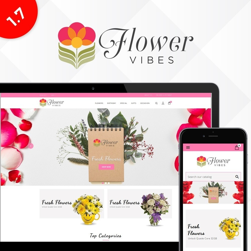 Flower Vibes Store