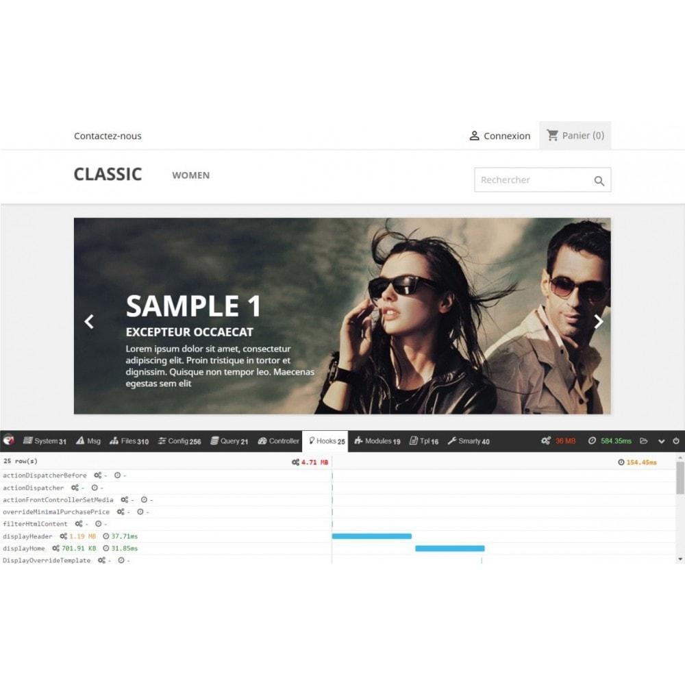 module - Desempenho do Site - Debug toolbar - 2