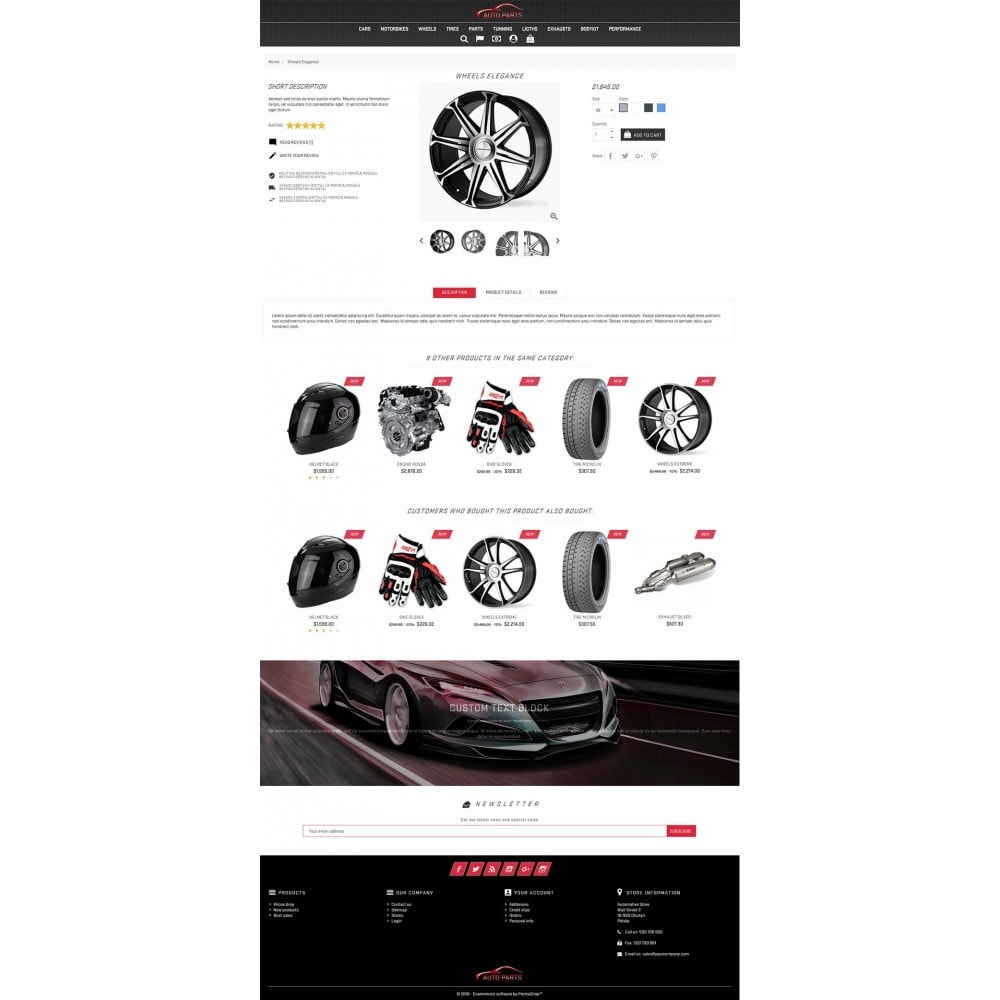 theme - Samochody - Auto Parts - 4