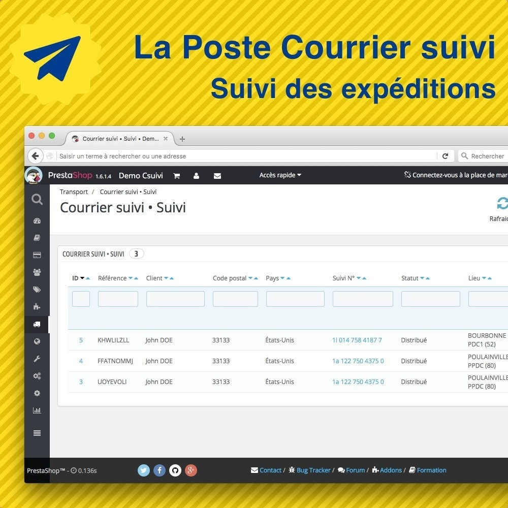 module - Delivery Tracking - La Poste • Suivi de mes expéditions - 3