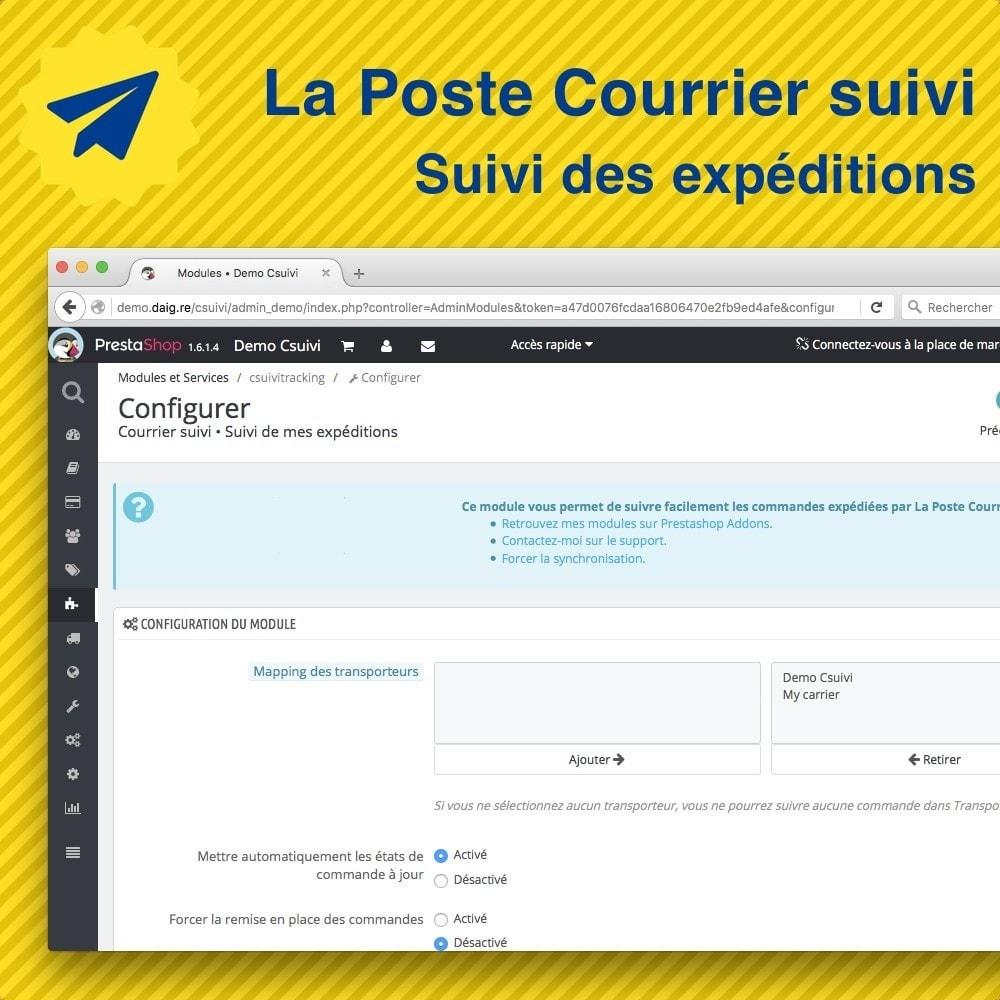 module - Suivi de livraison - Suivi des expéditions La Poste, Colissimo, Chronopost - 4