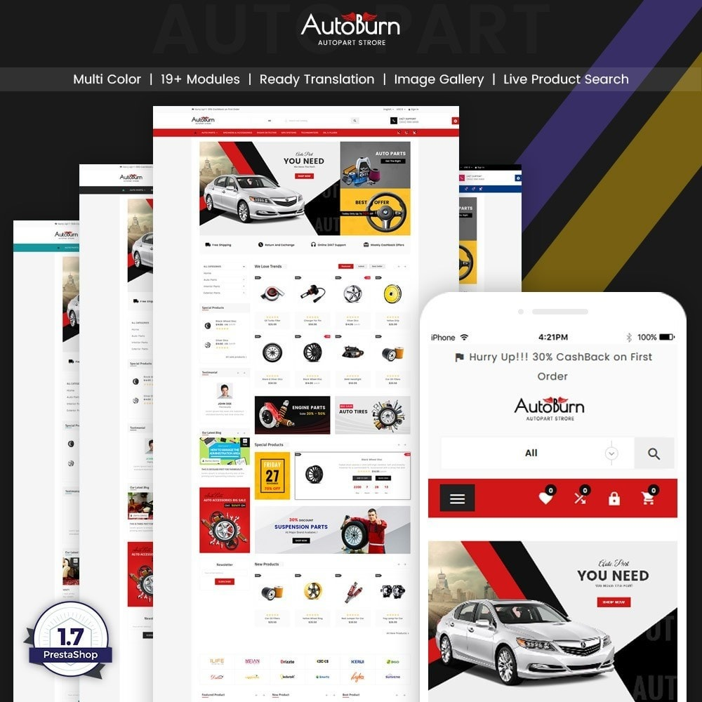 AutoBurn - AutoPart and Tool Super Store v3