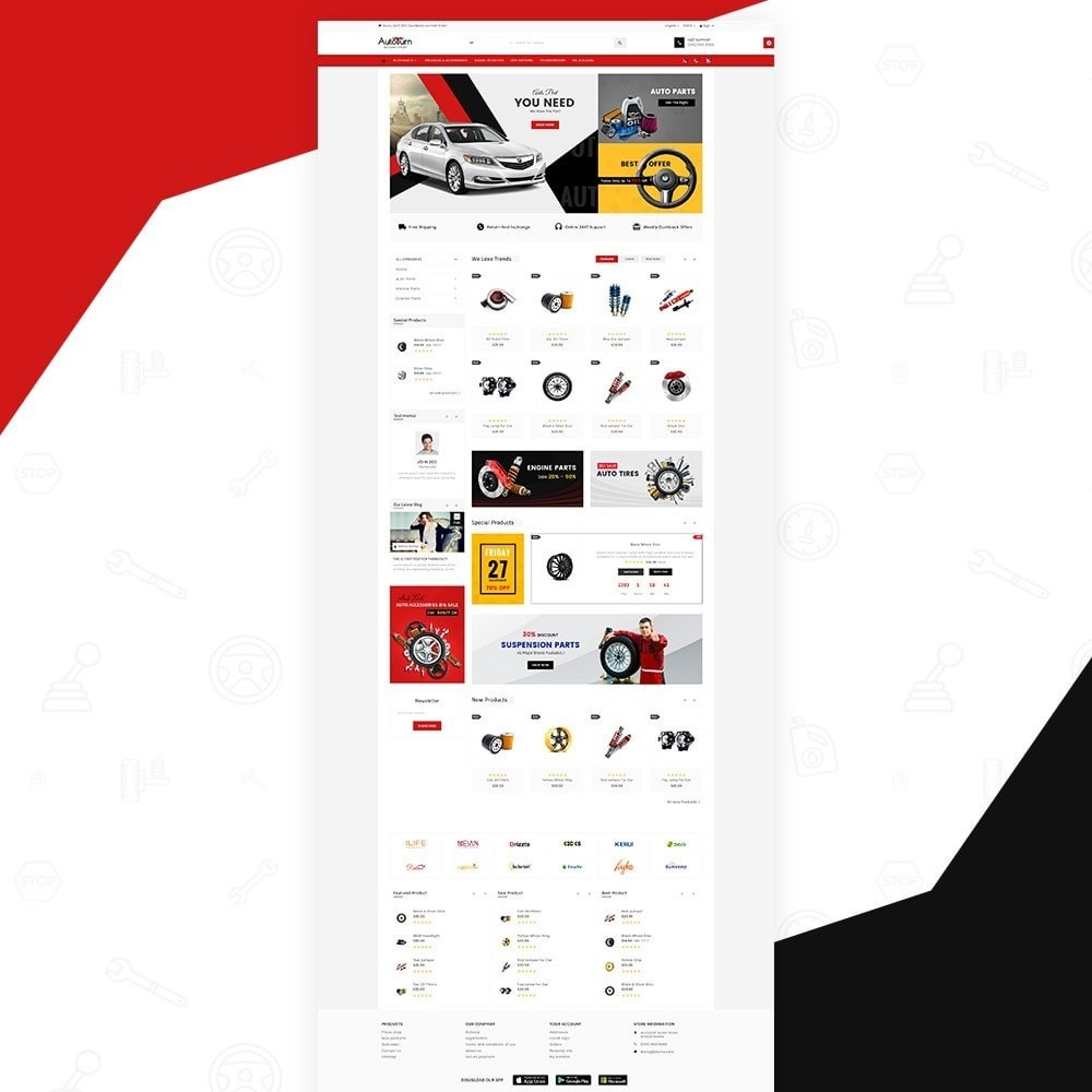 AutoBurn – AutoPart and Tool Super Store v3