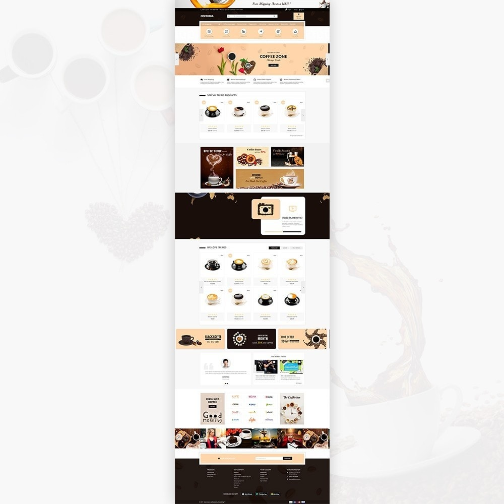 theme - Boissons & Tabac - Cofferia – Coffee Super Store - 2