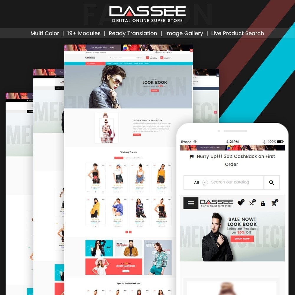 Dassee – Fashion Super Store v2