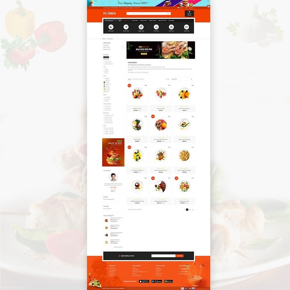 Foodza – Fast Food Super Store