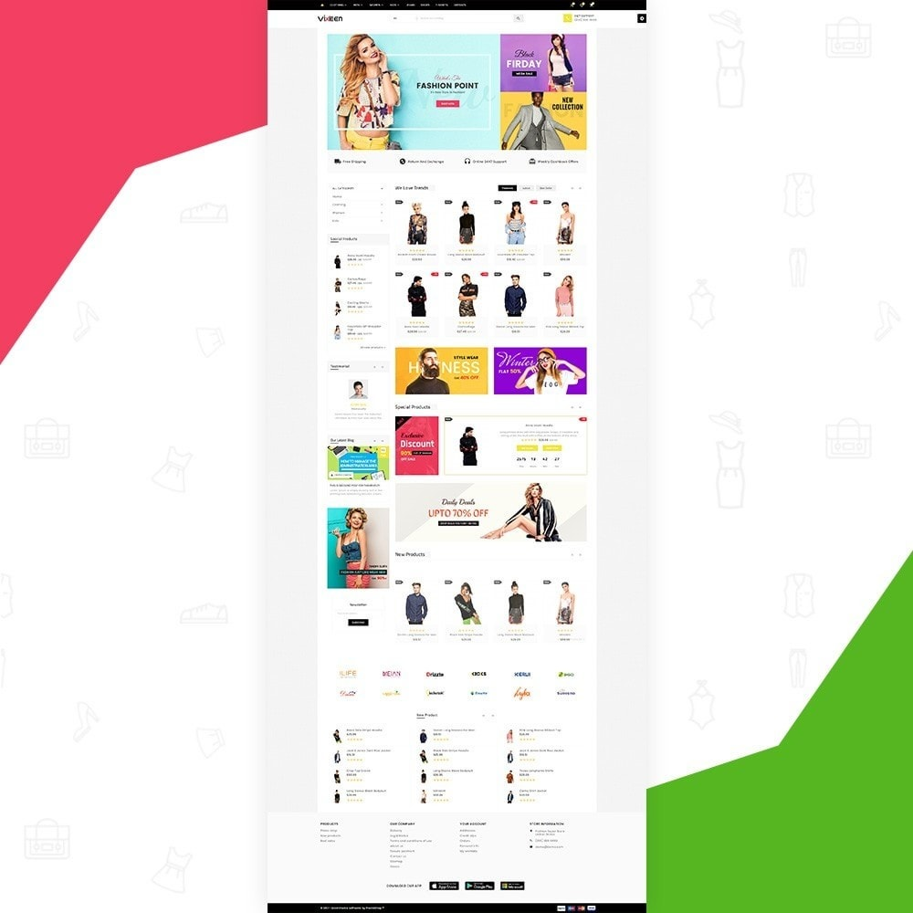 Vixeen – Fashion Super Store v3