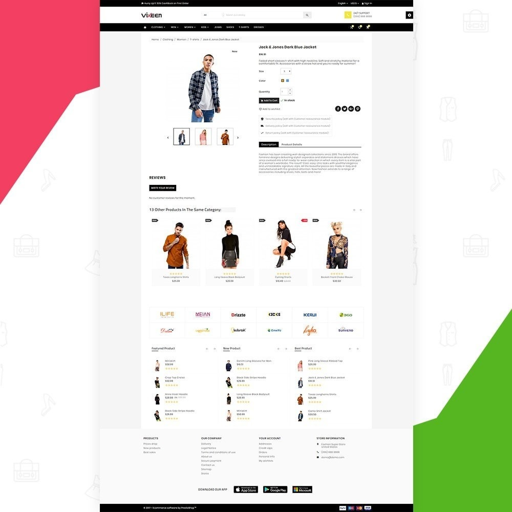 theme - Mode & Schoenen - Vixeen – Fashion Super Store v3 - 4