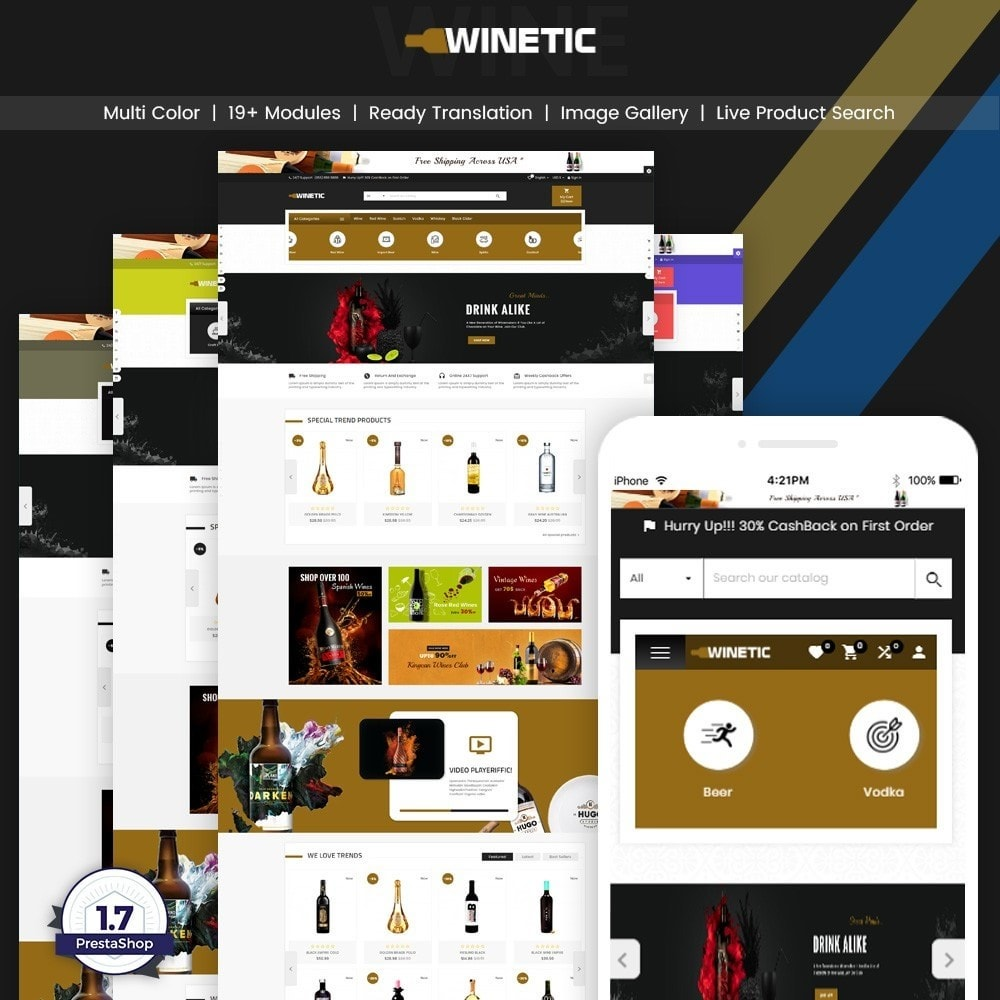 theme - Drink & Tobacco - WineTic – Wine Super Store - 1