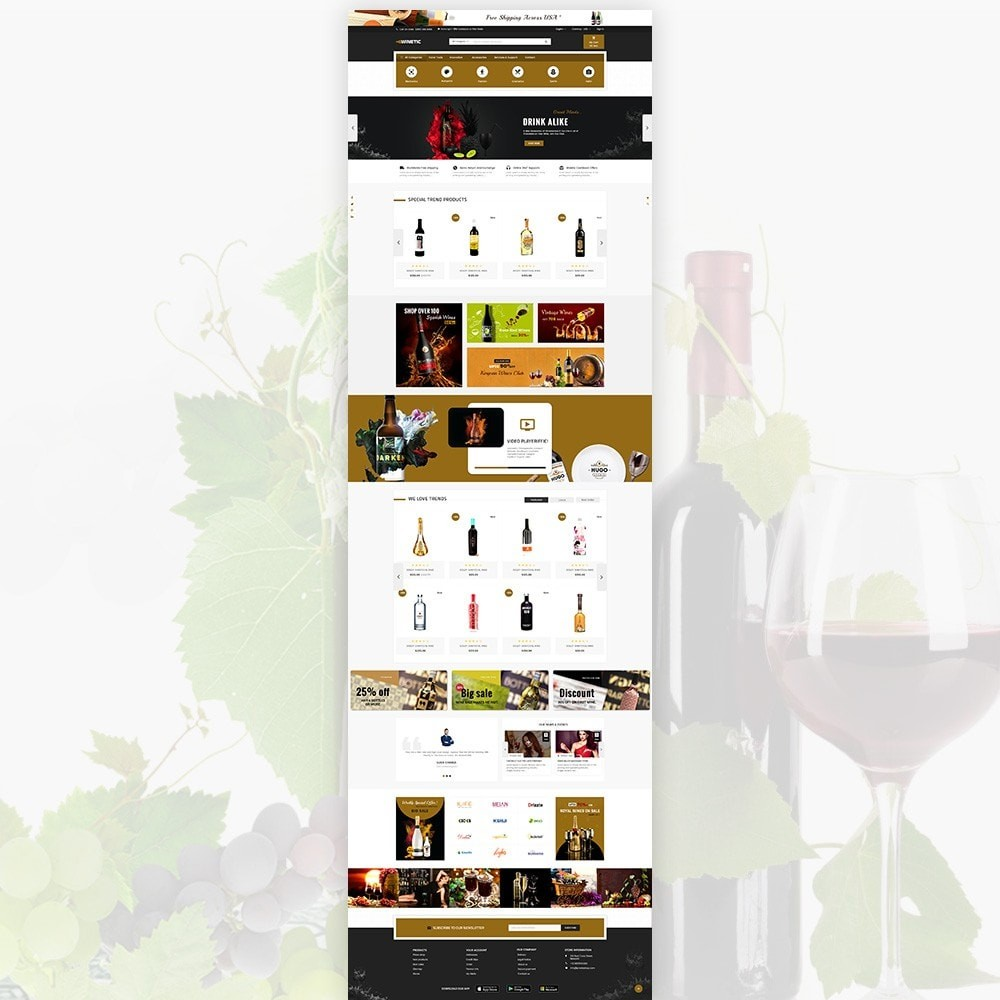 WineTic – Wine Super Store
