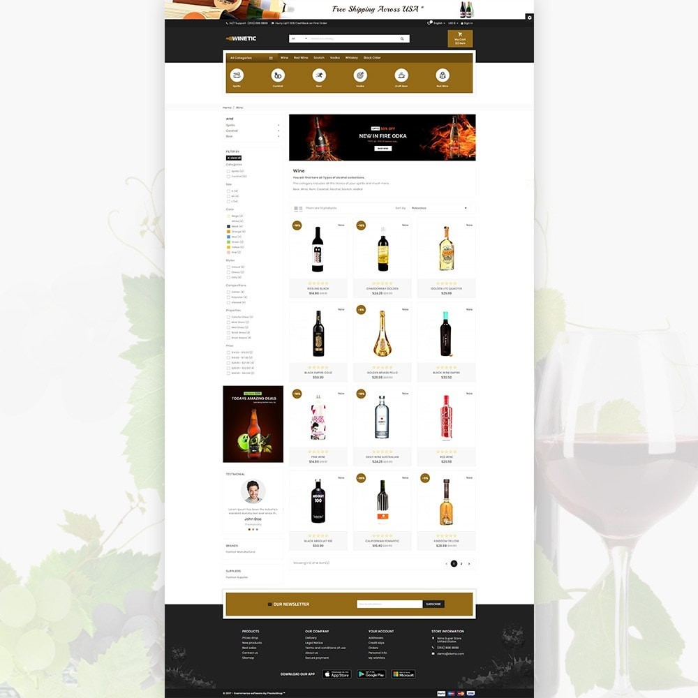 WineTic - Wine Super Store