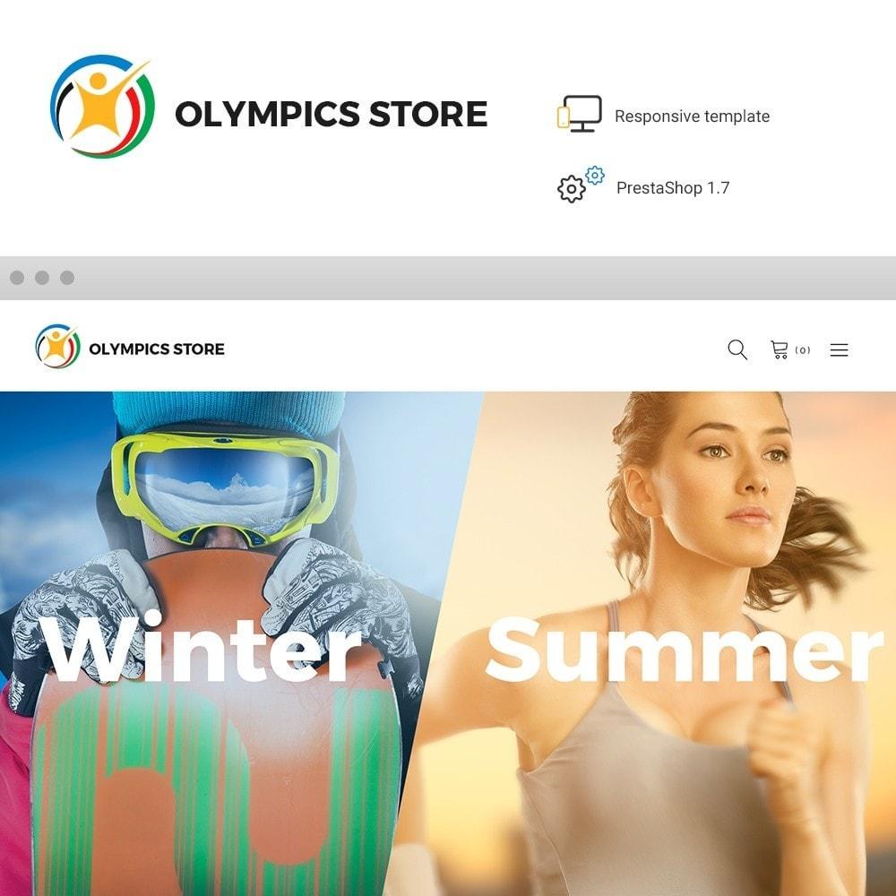 theme - Desporto, Actividades & Viagens - Olympics Store - Professional Sports - 1