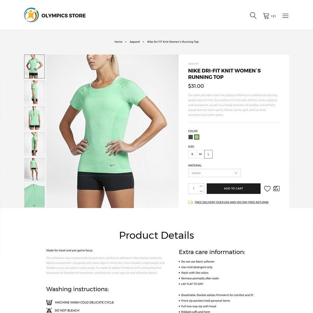 theme - Desporto, Actividades & Viagens - Olympics Store - Professional Sports - 3