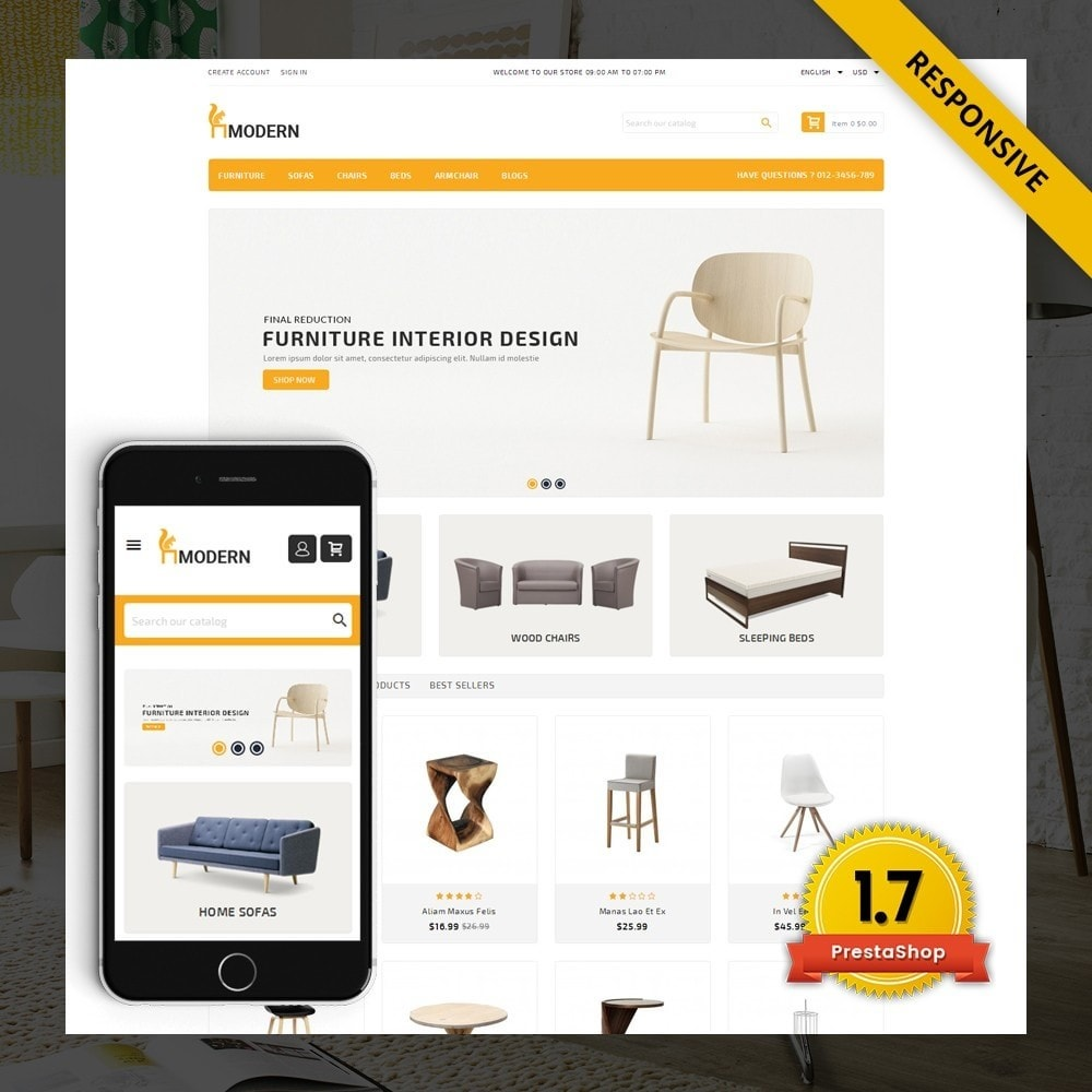 Modern  -  Furniture store