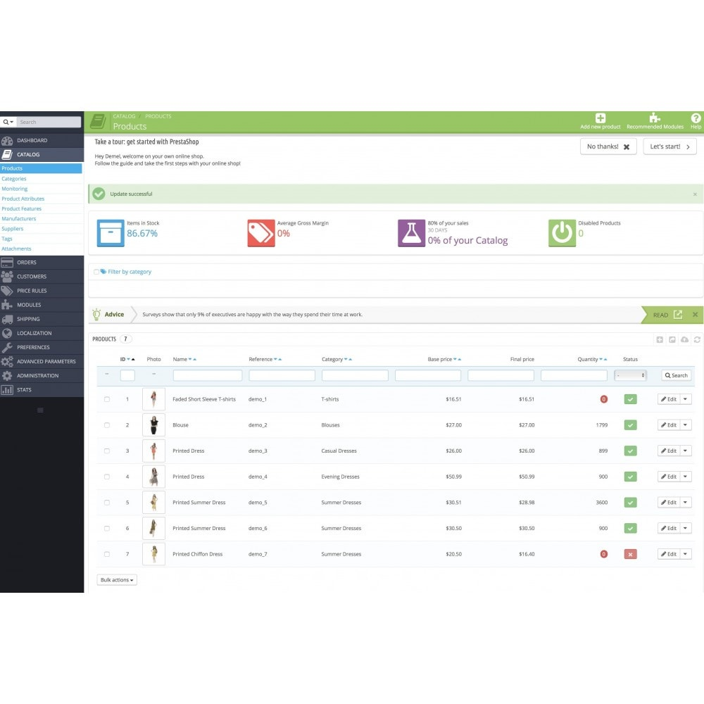 module - Zarządzanie zapasami &  Dostawcy - Auto Product Status Switcher - 2