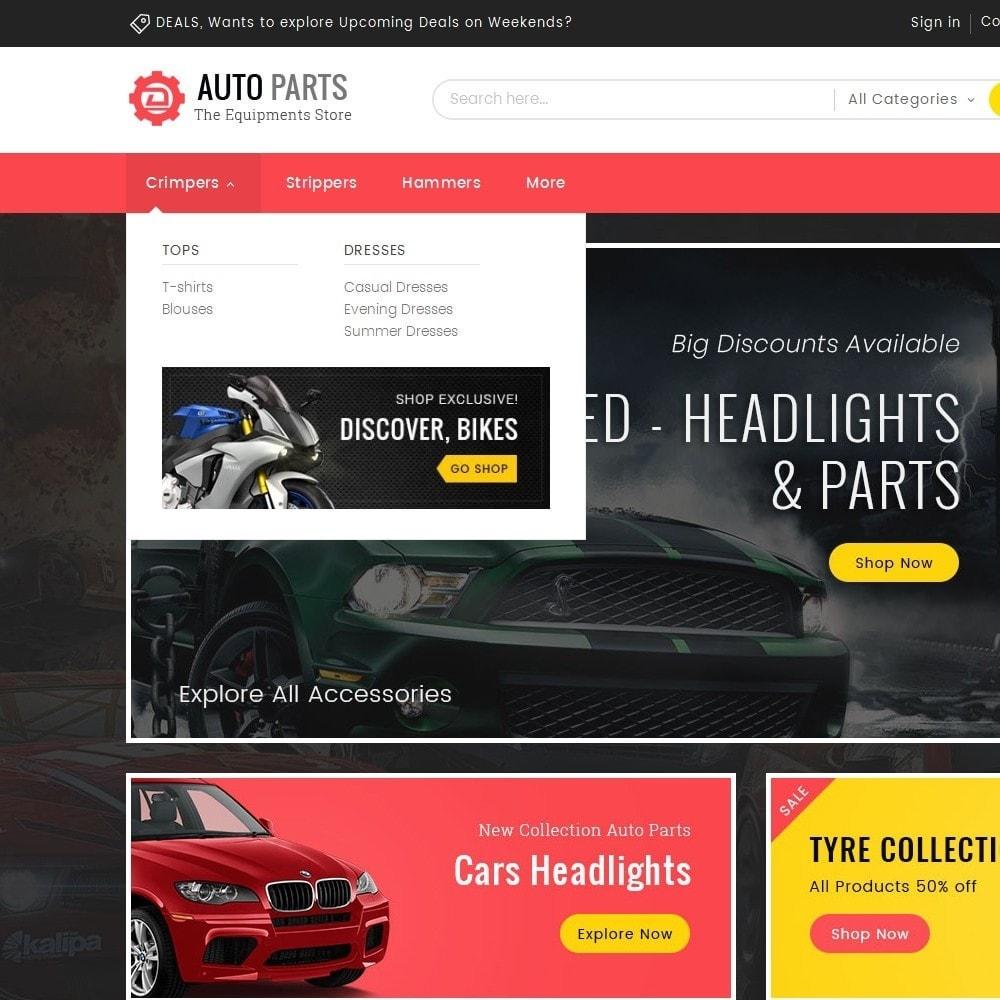 theme - Automotive & Cars - Auto Equipment Parts - 8