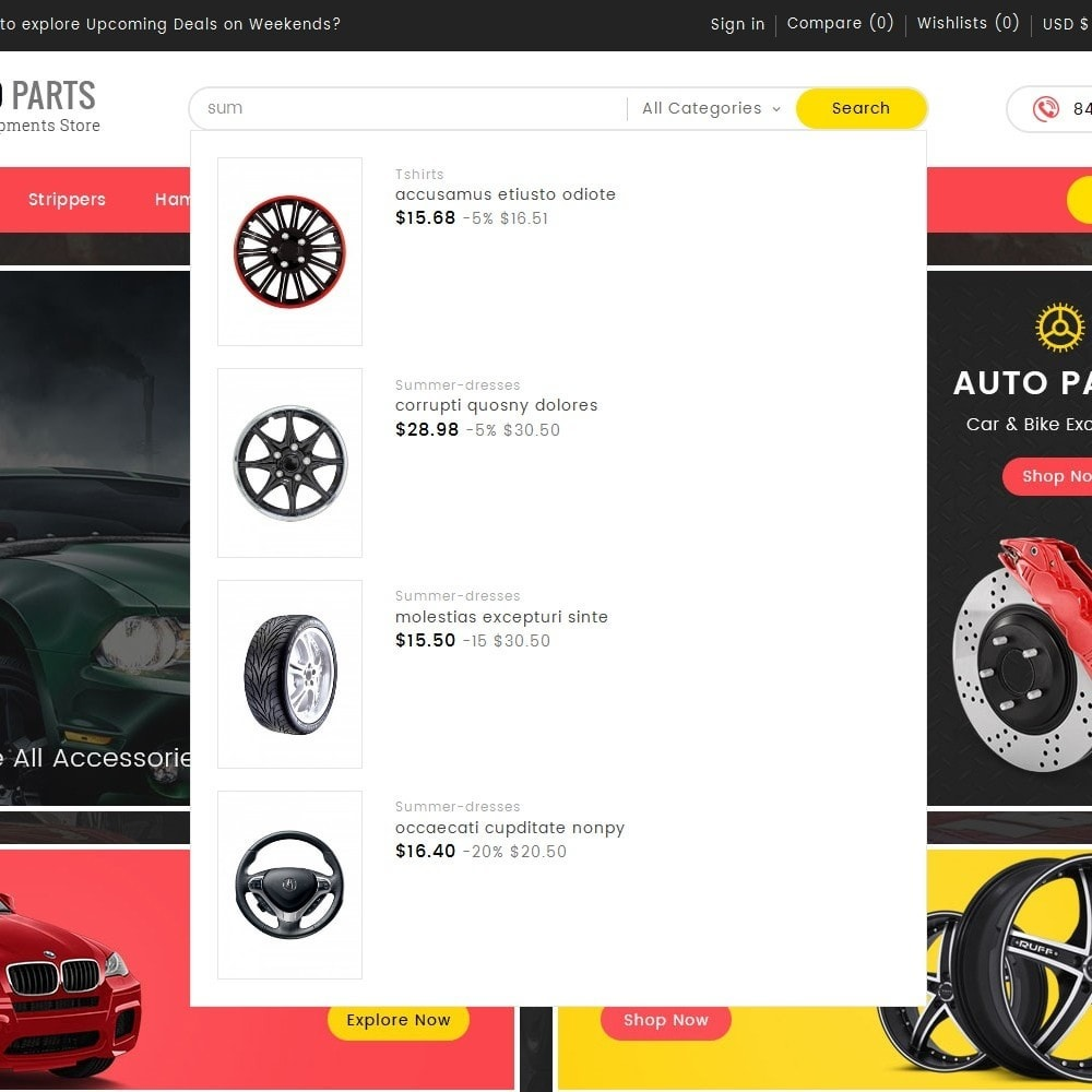 theme - Carros & Motos - Auto Equipment Parts - 9