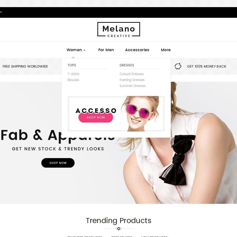 theme - Fashion & Shoes - Melano Creative Fashion - 8