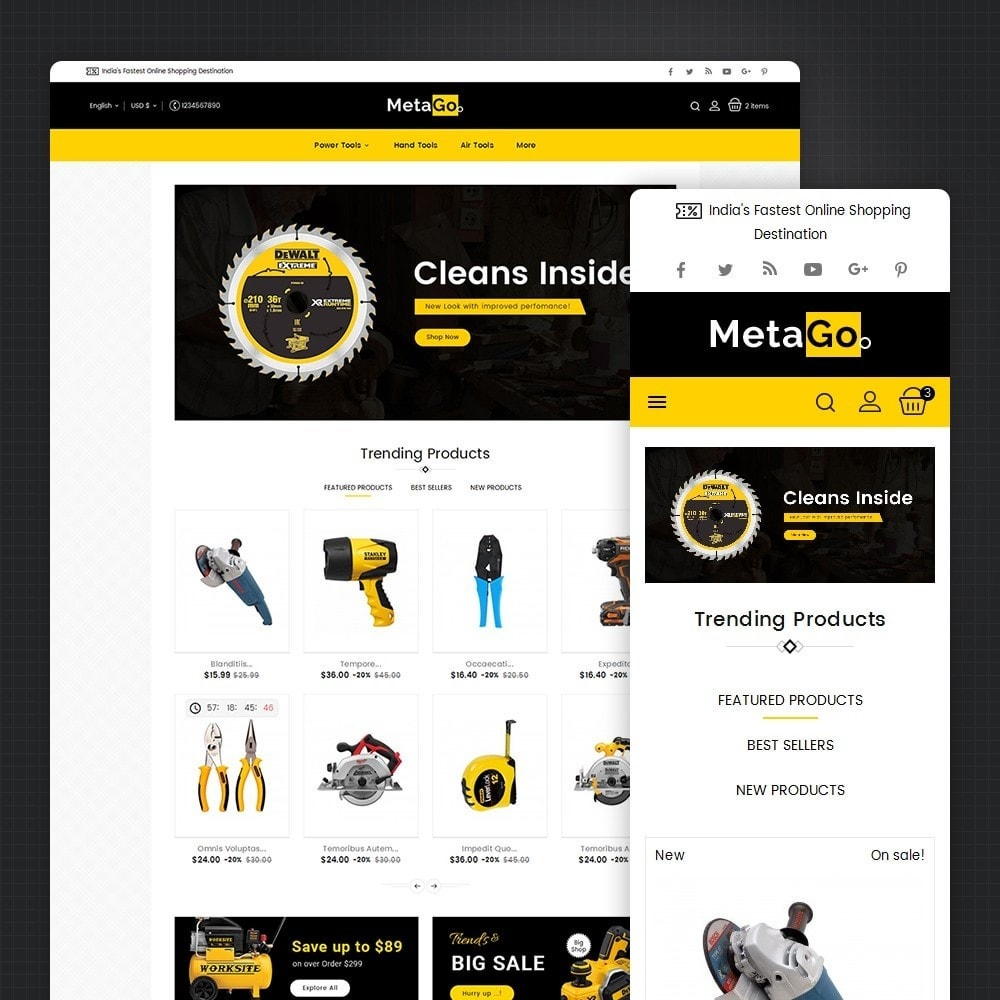 Melano Power Tools